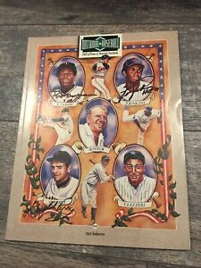 Rod Carew, Ferguson Jenkins And Gaylord Perry  Signed 1991 MLB HOF Yearbook JSA