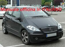 Mercedes Classe A ( 2004/2012) ( W169 ) Manuale Officina ITALIANO SU CD W 169