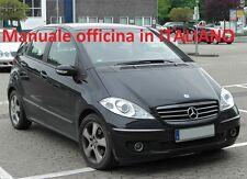 Mercedes Classe A ( 2004/2012) ( W169 ) Manuale Officina Riparazione W 169
