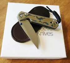"""CHRIS REEVE New Small Sebenza 21 With """"Koi Pond"""" Graphic Knife/Knives"""