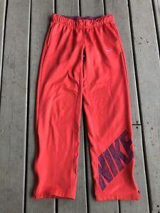 Nike women's Size Small Red Sweatpants