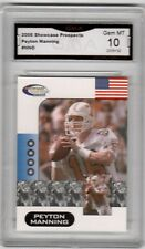 2006 Showcase Prospects Peyton Manning GMA Graded 10 Tennessee College Football