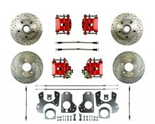 82-88 G-Body Rear Disc Brake Conversion W/ Matching Front - With E-Brake