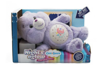 """Care Bears Nights A Glow - Lullaby + Twinkling Lights - Plush 12"""" / 30cm - New"""