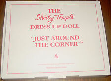Shirley Temple Dress Up Doll Outfit JUST AROUND THE CORNER  MIB  Danbury Mint
