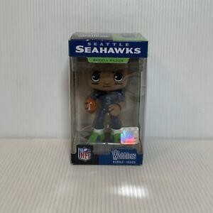 Seattle Seahawks NFL Funko Wobbler Bobble Head - Russell Wilson