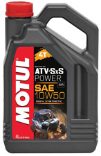 12. /l Motul poder de Atv-sxs 10w50 4T Quad aceite 4L totalmente Sintético