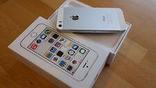 Apple iPhone 5s 16GB Silber simlockfrei & brandingfrei & iCloudfrei **WIE NEU**