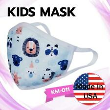 Stylish Breathable Kids Fashion Face Mask knitted in themes. Washable & Reusable