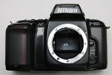 NIKON F601 FILM SLR BODY (light meter also works with manual focus lenses)