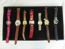 Unisex Adult VINTAGE Rare Disney Watches Pooh Bear Goofy Bugs Bunny Lot of 7