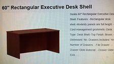 "60"" Executive Shell desk (Local pickup)"