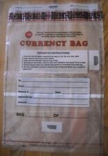 15 x 20 Federal Reserve Approved Clear Plastic Bank Currency Bags, Qty 100