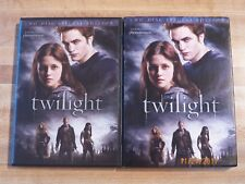 Twilight DVD Kristen Stewart Robert Pattinson love romance vampire family undead