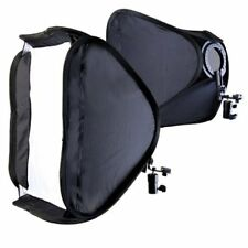 "UK Seller! 24"" 60 x 60cm Studio Softbox Soft box Kit with L-shaped bracket"