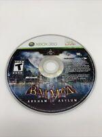 Batman: Arkham Asylum (Microsoft Xbox 360, 2009) DISC ONLY Tested Works