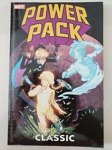 POWER PACK CLASSIC Vol 2 TPB 2010 MARVEL COMICS 1ST PRINT BILL MANTLO! UNREAD
