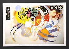 Wassily Kandinsky - Courbe dominante (1936) Poster Kunstdruck Art Print 46x32cm