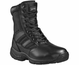 Magnum Panther 8.0 Side Zip Women's UK 4 EU 37 Black Uniform Work Patrol Boots