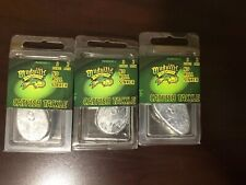 (90ml) Mudville 3ounce Catfish Tackle No-Roll Sinker 3oz - 2pack