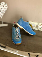 DOLOMITE Cinquantaquattro Sneaker Halbschuhe Leder low blau 38 NP 129,95