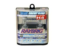 New Raybrig H4 hyper halogen Circuit clear 3300K Ra47 2 pieces With Tracking
