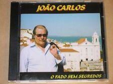 RARE CD / JOAO CARLOS / O FADO SEM SEGREDOS / EXCELLENT ETAT