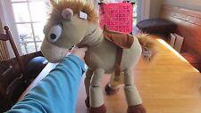"Disney TOY STORY 3  BULLSEYE 17"" NWT WOODY HORSE PLUSH STUFFED Doll Toy"
