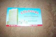VINTAGE Colossal Nickel Plated Gold Eye Needles Deluxe Rustproof IN CASE MINT
