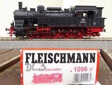 FLEISCHMANN 1096 Locomotora Ténder BR 094 567-5 de DB Ep 4. AC digital, H0, BW