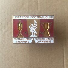 Vintage Liverpool 1982 League Champions & League Cup Winners badge