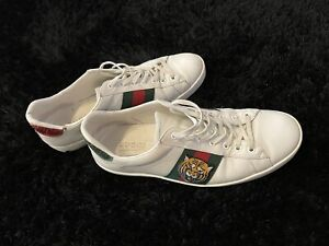 Gucci Ace Lion Weiss