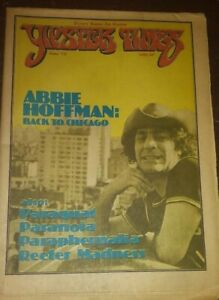 YIPSTER TIMES june1978 yippie! Abbie Hoffman Counterculture  Protest Chicago 7