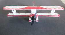 Die-Cast Red Baron Pizza Stearman Squadron Bi-Plane Rbps
