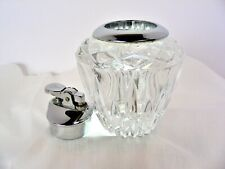 Leaded Cut Crystal Made in Japan Butane Lighter Decanter
