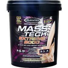 Muscletech Mass Tech Extreme 2000 - Performance Series Vanilla Milkshake 22 lbs