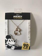Disney Mickey And Minnie Heart Necklace
