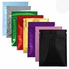 10/30PCS New Organization Flat Heat Seal Bag Aluminum Foil Glossy