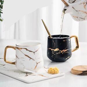 Nordic Marble Coffee Mugs Matte Luxury Water Cafe Tea Milk Cups Condensed Coffee