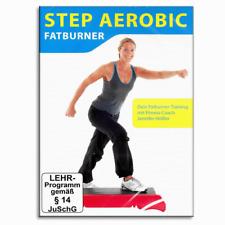 DVD - Step Aerobic Fatburner - Für Stepbrett und Stepper - Fettverbrennung - Neu