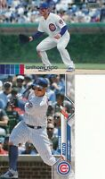 Anthony Rizzo Lot of 2 different 2020 Topps Chicago Cubs baseball cards