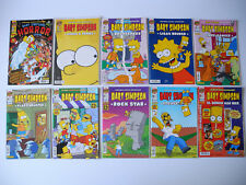 10 x Bart Simpson Comics, u.a. Bart Simpsons Horror Show, Nr. 14/33/42-48 und 50