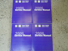 2006 GMC Chevy Truck Topkick Kodiak Diesel Shop Service Repair Manual Set NEW 06