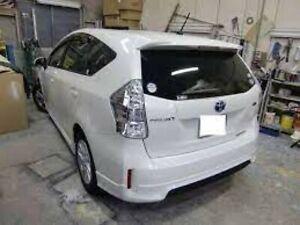 Toyota Genuine OEM Spoiler, rear no.1 PRIUS A (ALPHA)ZVW4# 2011/04-  7689147040