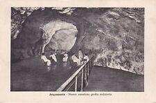 ACQUASANTA - Nuova Maestosa Grotta Sudatoria