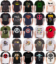 Captain America T Shirt official Marvel civil war daredevil Thor Hulk Iron Man