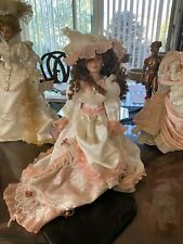 """Porcelain Doll - 17"""" Inches - *Goldemale Collection* - *Excellent Condition*!"""