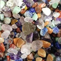 50G Raw Gem Mix Quartz Crystal Mini Stone Rock Chips Specimens Healing Craft