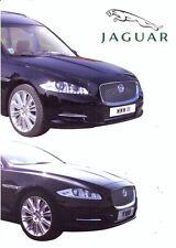Jaguar XJ Hearse & Limousines by Wilcox UK market sales brochure