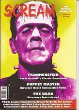 Scream Magazine #2 UK Horror  Frankenstein Puppet Master The Dead Zombies